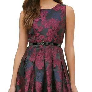 Tommy Hilfiger NWT Floral A-Line Dress Belt 18